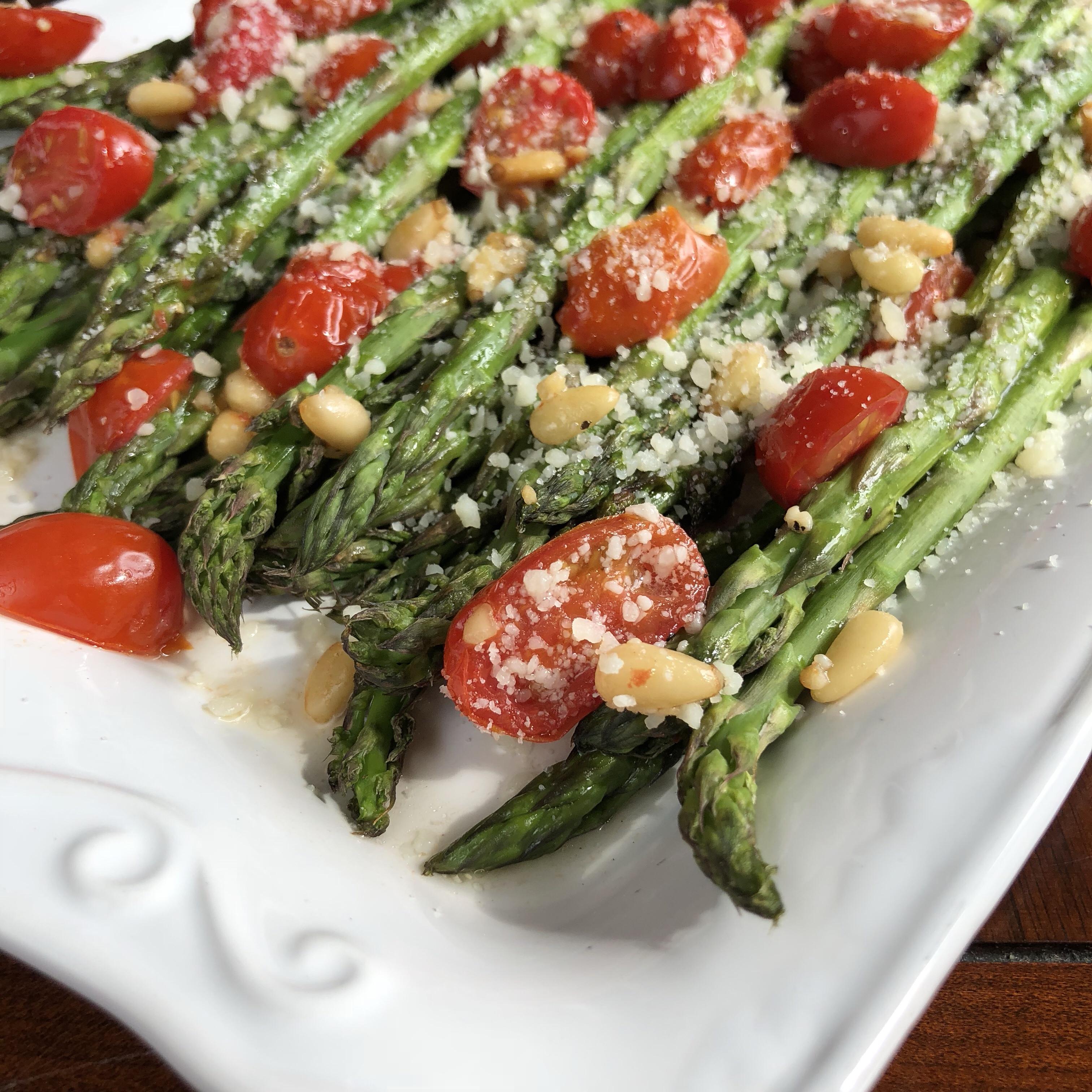 Easy Tuscan Roasted Asparagus