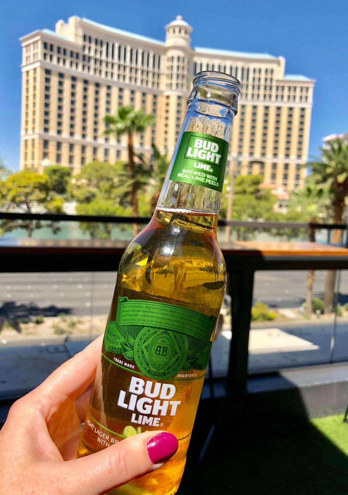 Budweiser Beer Park | Paris Hotel & Casino #beerpark #beerparklasvegas #budweiserbeerpark #parishotel #wheretodrinkinvegas
