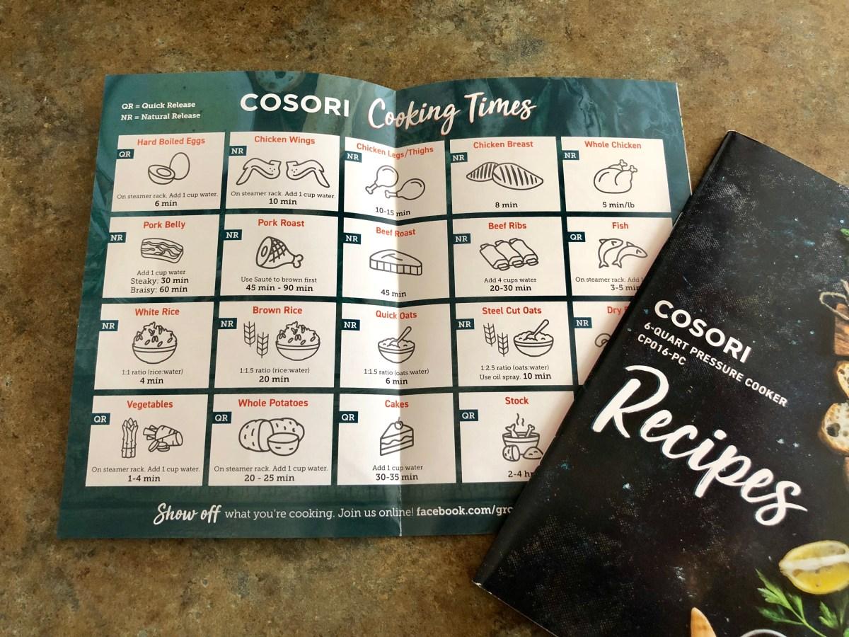 Product Review of Cosori Premium 6-Quart Pressure Cooker #cosori #cosoricooks #pressurecooker #cosoripressurecooker #cosoripressurecookerreview