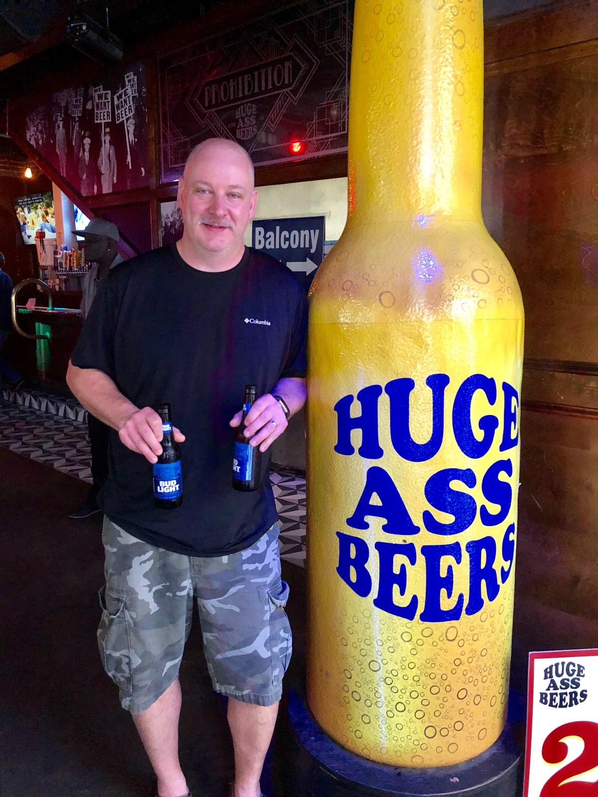 Huge Ass Beers NOLA #neworleanshappyhour #nola #neworleans #mardigras #bourbonstreet