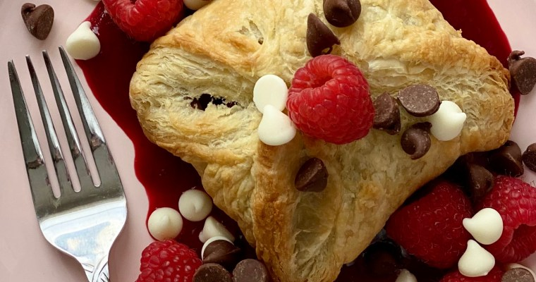 Chocolate Raspberry Puff Pastry
