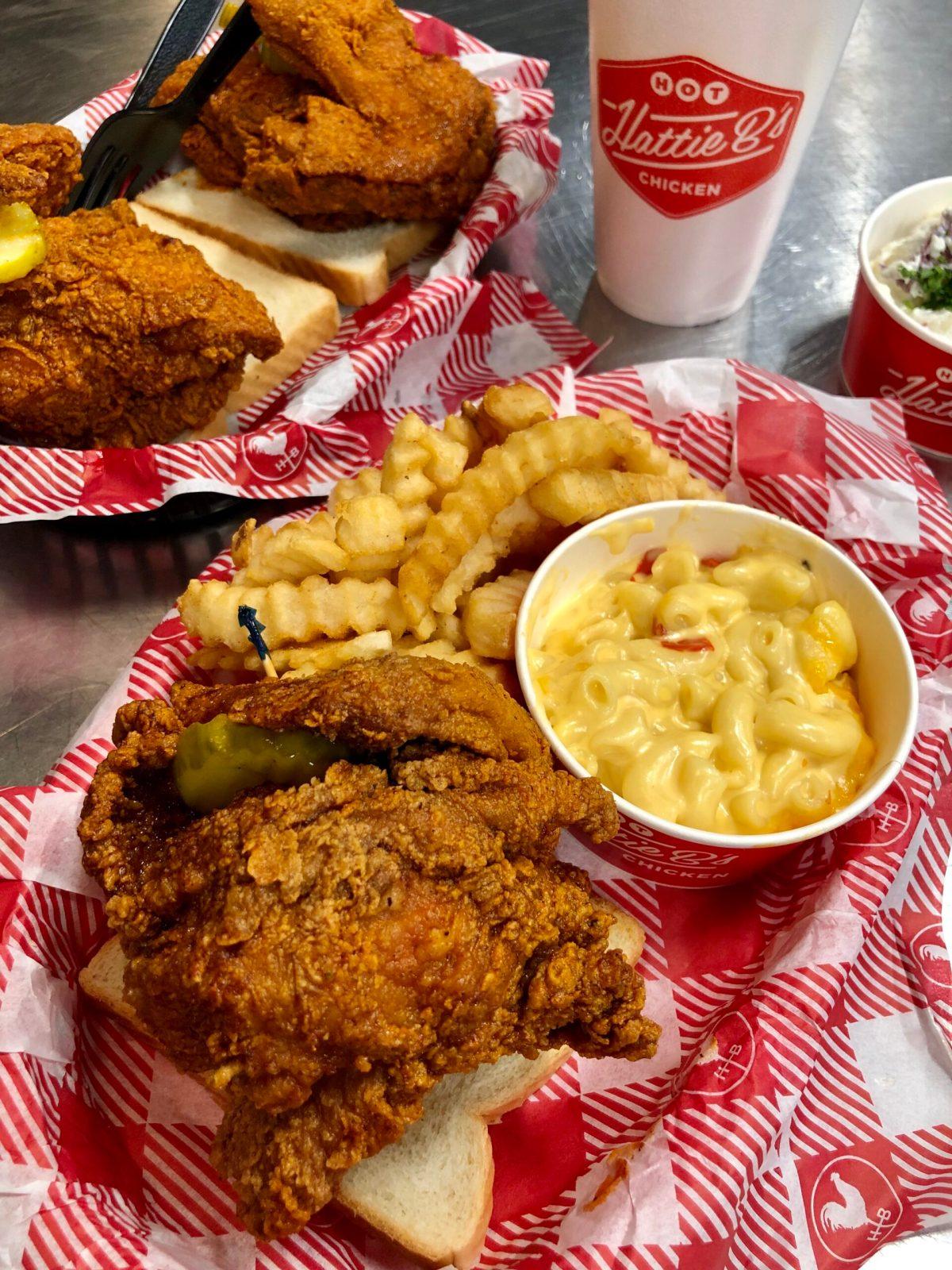Hattie B's Hot Chicken | Nashville, TN #hattiebs #hattiebshotchicken #hattieBsnashville #nashvillehotchicken #hotchickennashville #bestfoodinnashville #wheretoeatnashville
