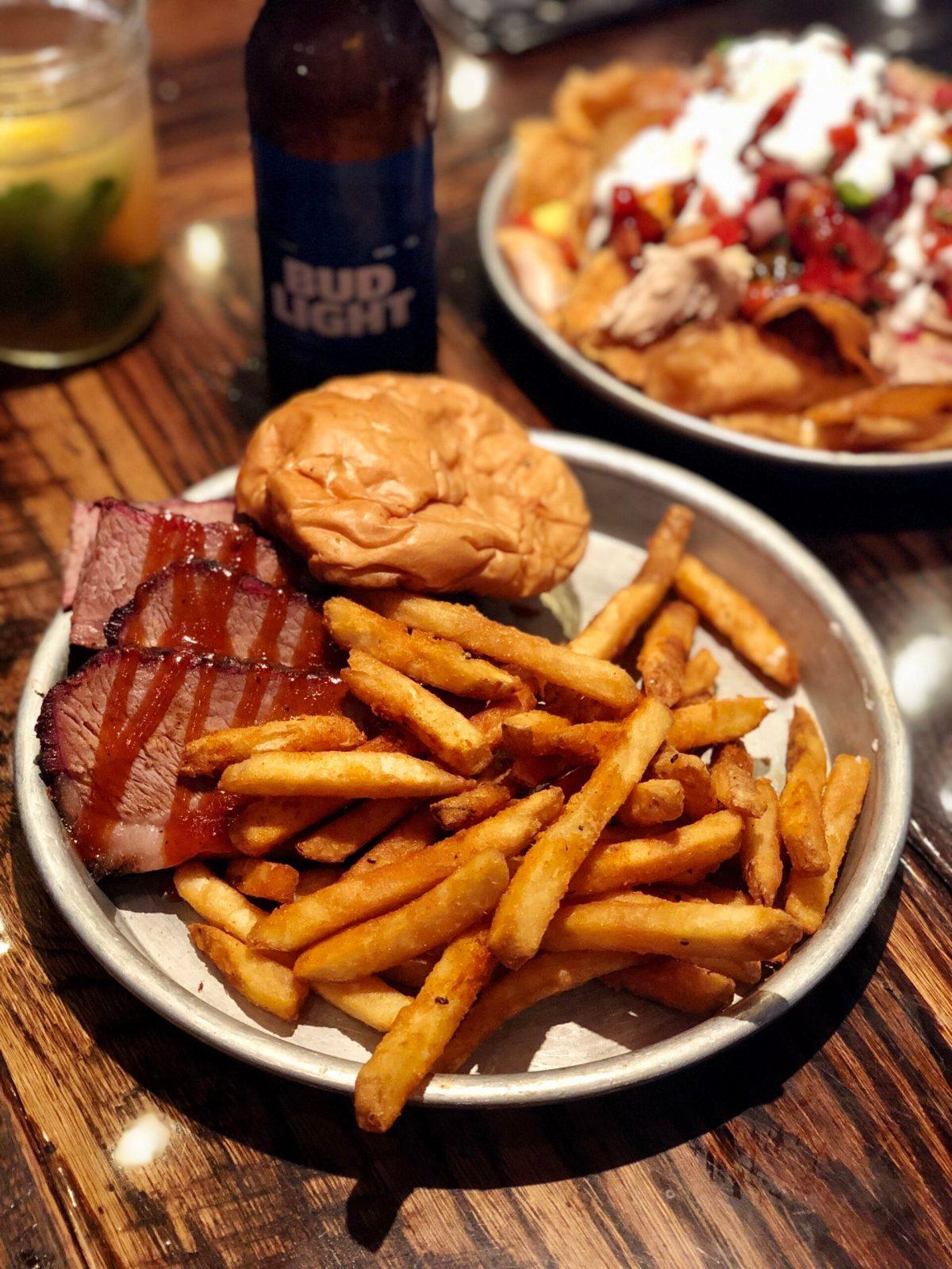 Beef Brisket Sandwich at Edley's Bar-B-Que #nashville #nashvillefood #instagramnashville #bestbbqnashville #nashvillebbq