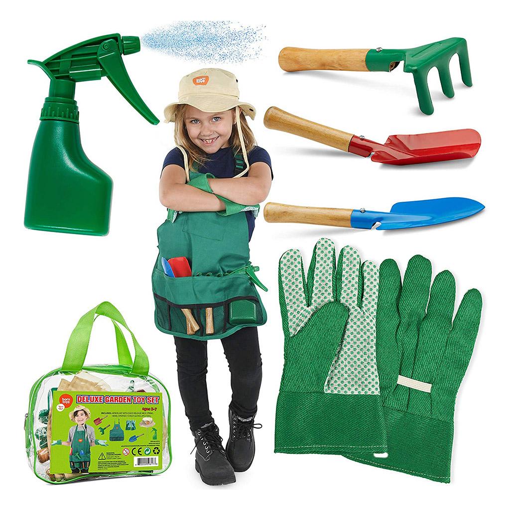 . Born Toys Gardening Tool   Dress Up Set