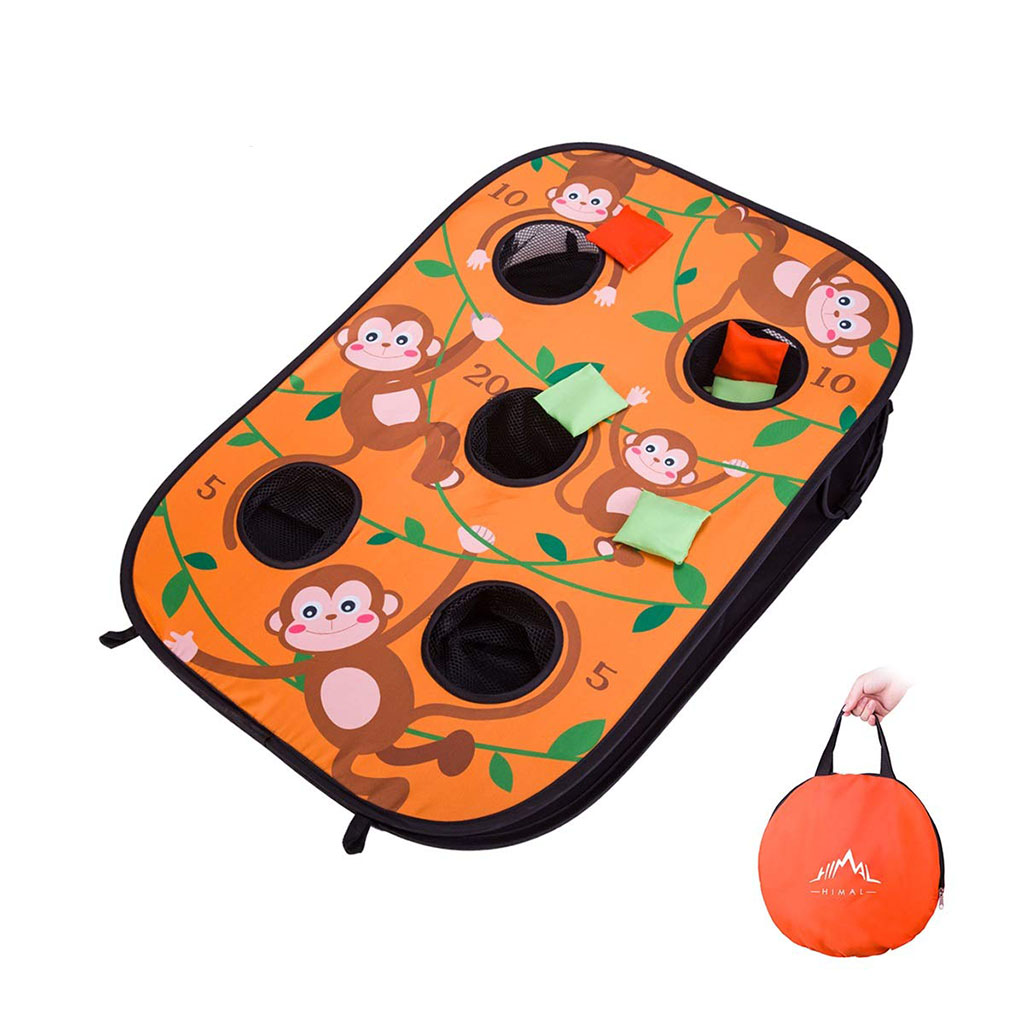 Surprising Bean Bag Toss Game Happy Little Tadpole Evergreenethics Interior Chair Design Evergreenethicsorg