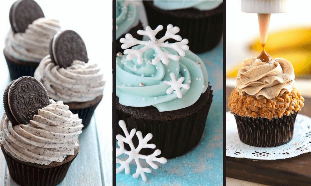 20 božích cupcakes, které zvládne i úplný začátečník