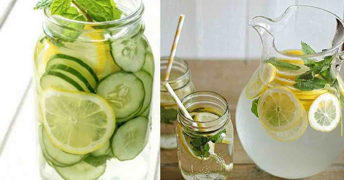 10 blahodárných účinků okurkové vody