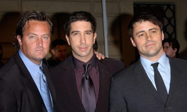 Jak dobře znáte představitele seriálu Přátelé?