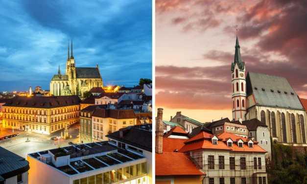 Kvíz: Poznáte všech 15 českých měst na obrázku?