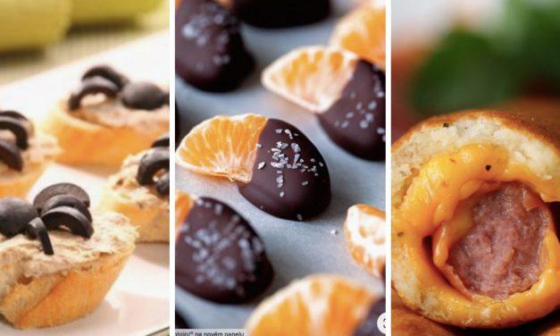 10 receptů na veselé jednohubky pro děti, které je budou bavit jíst