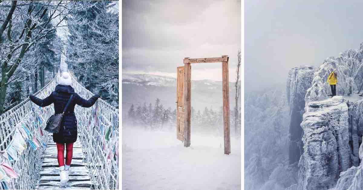 15 úžasných míst v Česku, která zasypal sníh