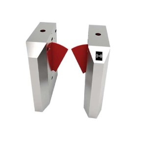 ZKTeco-FBL2022-Single-Lane-Flap-Barrier-Turnstile-(with-controller-fingerprint-&-RFID-reader) (1)