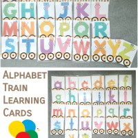 Alphabet Train Learning Cards - HKD57 (including postage)