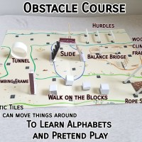 New product - Obstacle course Part 2 - Pretend play
