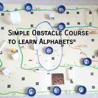 New product - Obstacle course for learning alphabets