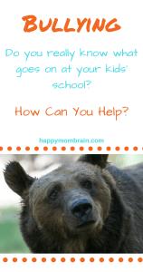 bullying, parenting, mama bear