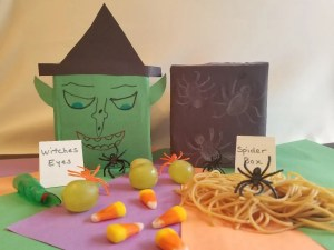 Fall Activity Ideas - Halloween Mystery Boxes