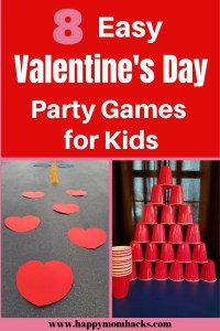 Valentine's Day Ideas and Games for Kids. Easy to put together school classroom games. Find Bingo, minute to win it and more games for class parties all year long. #schoolparties, #classparties, #valentinesday