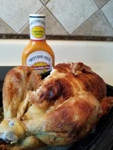 Rotisserie Chicken and Buffalo Wing Sauce