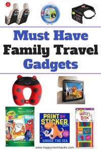 11 amazing travel accessories and activities for kids on your next Family Vacation. These must have gadgets from Amazon will keep your kids busy on airplanes or on a road trip. Keep the Kids happy and have the best family trip! #familytravel, #familyvacation, #traveltips