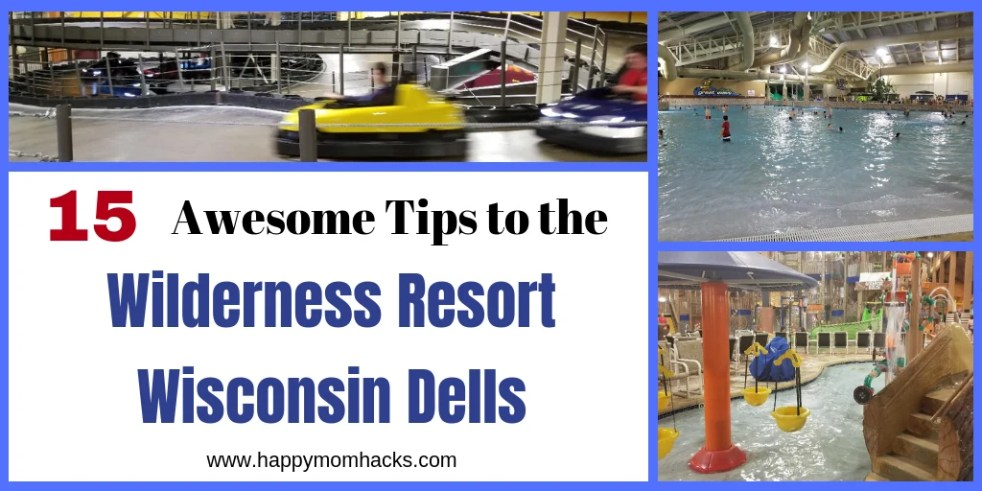 Wilderness Resort Wisconsin Dells, tips, and reviews to help plan the best family vacation.