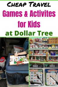 Best Travel Games & Activities for Kids at Dollar Tree for Airplane & Car rides. Save money and keep kids entertained while you travel with these cool travel gadgets & games. Be ready for a great family vacation. #travelgames #travelactivities #travelgadgets #familyvacation #travelwithkids #kidstravelgames #dollartree