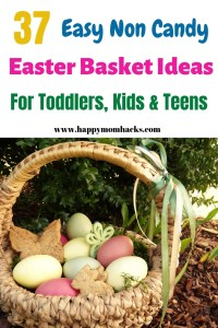 37 Easter Basket Ideas for Toddlers, Teens and kids. Unique non candy items the kids will love. Make your own DIY basket from the comfort of your home with these cool gifts from Amazon.  Don't miss out on these great ideas! #easter, #easterbasket, #gifts