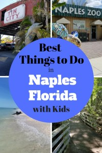 Ultimate Insider's Guide to Things to Do in Naples Florida with Kids. Learn where the locals go. Find the best beaches and restaurants. Keep the kids busy a the Naples Zoo, Children's Museum, Naples Botanical Gardens, Nature Preserves, sunset at the Naples Pier and More. Follow this guide to make it the best Family Vacation!! #familyvacation, #traveltips, #Naplesflorida