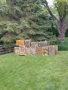 DIY Nerf Battlefield for Nerf Wars Birthday parties. Cheap and easy to make in your backyard for an awesome Nerf Birthday party.
