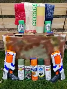 Ultimate Nerf Wars Birthday Party Ideas and Games. Learn how to host an easy DIY party by building bases, playing capture the flag and create favors and goody bags. All you need to know for a unforgettable Nerf Gun Birthday party!! #nerfwars, #kidsbirthday, #nerfgunbirthday