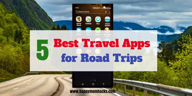 Best Free Road Trip Apps for Adults. Use these 5 great apps when you travel to find the best hotels, travel directions, where to eat along your route and more. You will be so glad you downloaded these free road trip apps. #roadtrip #familytravel #familyvacation #freeapps