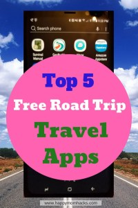 2018 Best Road Trip travel apps for your next family vacation. Help with planning your trip, where to eat, get gas, and the fastest route. Use these free tools for an easy road trip. #roadtrip, #familytravel, #traveltips, #travelapps
