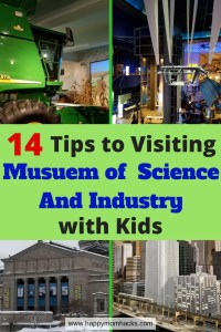Chicago Museum of Science and Industry with kids. These 14 tips tell you where to park, which are the best exhibit for kids, when free days are, where to eat, membership and so much more. Follow these tips for a stress free fun filled family day at the Museum of Science and Industry.