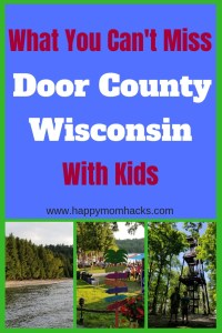 Top 10 Things to do in Door County Wisconsin with Kids. Family guide to the best beaches, lighthouse, and hiking state parks in the summer, In the fall and winter take beautiful pictures of the leaves changing and snow covered lake Michigan. Find great restaurant suggestions and fish boils for kids. Be prepared for a fun family vacation! #doorcounty, #familyvacation, #traveltips