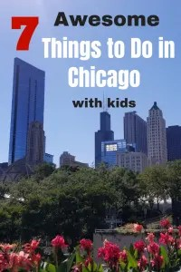 7 Fun things to do in Chicago with kids you won't want to miss. Explore an amazing playground and zoo in the summer. Ice skate in Millennium Park in the winter. Don't forget the great Museums and aquariums too. So many awesome Chicago Attractions your family will love for a weekend getaway or stay-cation!! #chicagoattractions, #familyvacation, #traveltips