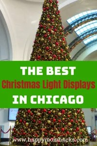 10 Things to Do in Chicago for the Christmas. Christmas in Chicago is the best! There are beautiufl holiday light displays for families all over the city. Use this Guide to Christmas Light Display in Chicago to find displays kids will love! #holidaylights, #christmasinchicago, #christmaslightdisplays