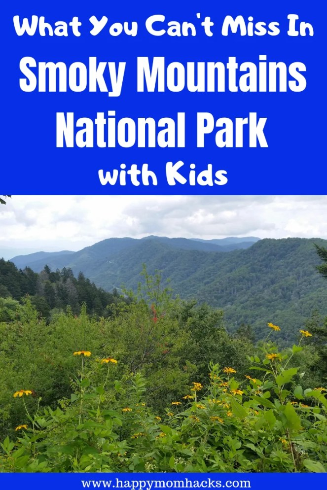 Best Family Guide to Smoky Mountains National Park. 8 things to do in the park with kids such as hiking, Cades Cove, Clingmans Dome, waterfalls and Appalachian Trail. Find great cabins in Gatlinburg and Pigeon Forge. All you need to know before you go. #smokymountains, #familytravel, #nationalparks #Traveltips