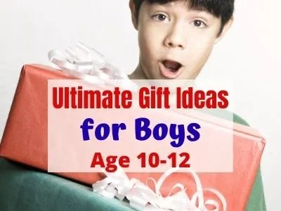 Ultimate Gift Ideas for Tween Boys at 10-12.