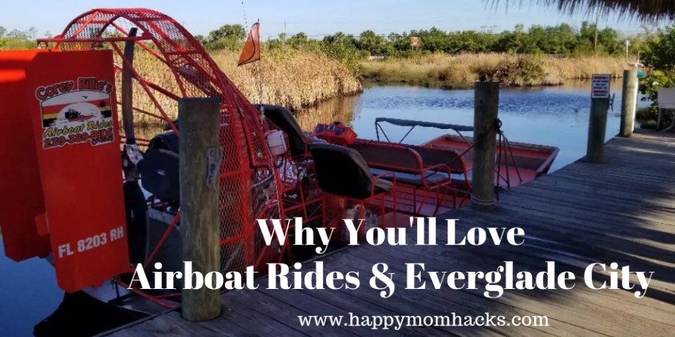 Best Airboat Rides in Florida Everglades. Plus best things to do in Everglade City Florida.