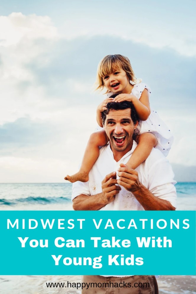 Fun Midwest Vacations & weekend getaways with Kids. Great places to travel for families in the Winter and Summer months. Click to find 8 awesome trips idea you'll love from Chicago, Wisconsin, Indiana, Missouri and more. #familyvacation #familytravel #midwest