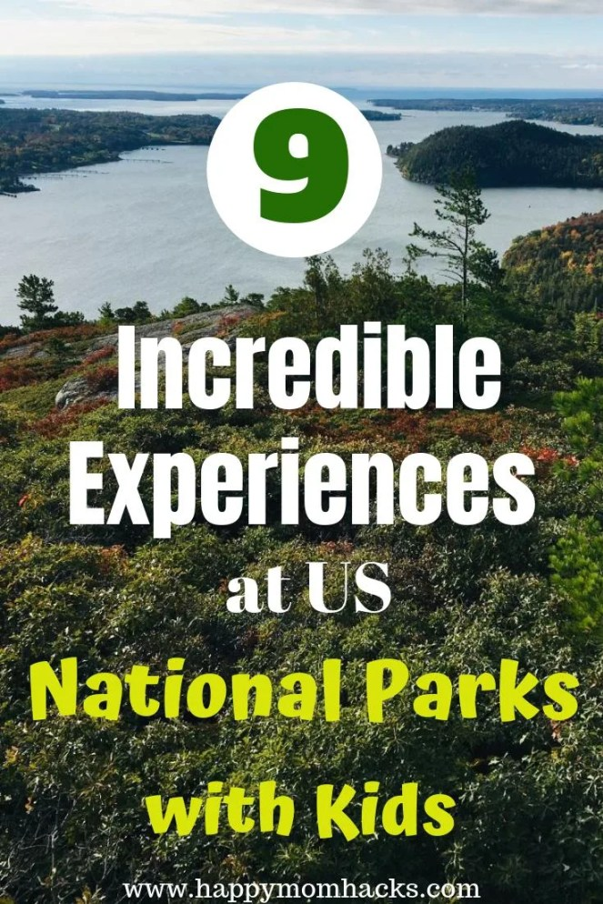 US National Parks with Kids. Best parks to visit on Road Trips in the United States. Visit park in the East Coast, California, Arizona and the Midwest. Use this list to find the best National Park for your family.  Find incredible Experiences you'll love! #nationalpark #np #familyvacation #traveltips #travelwithkids