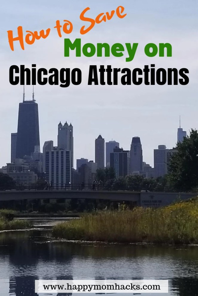 How to Save Money with Chicago CityPASS on Chicago Attractions.  See the Best Museums and Chicago Skydeck. Click here to find out how to save 50% on your visit to Chicago.  #chicago #chicagoattractions #citypass #familytravel #museums