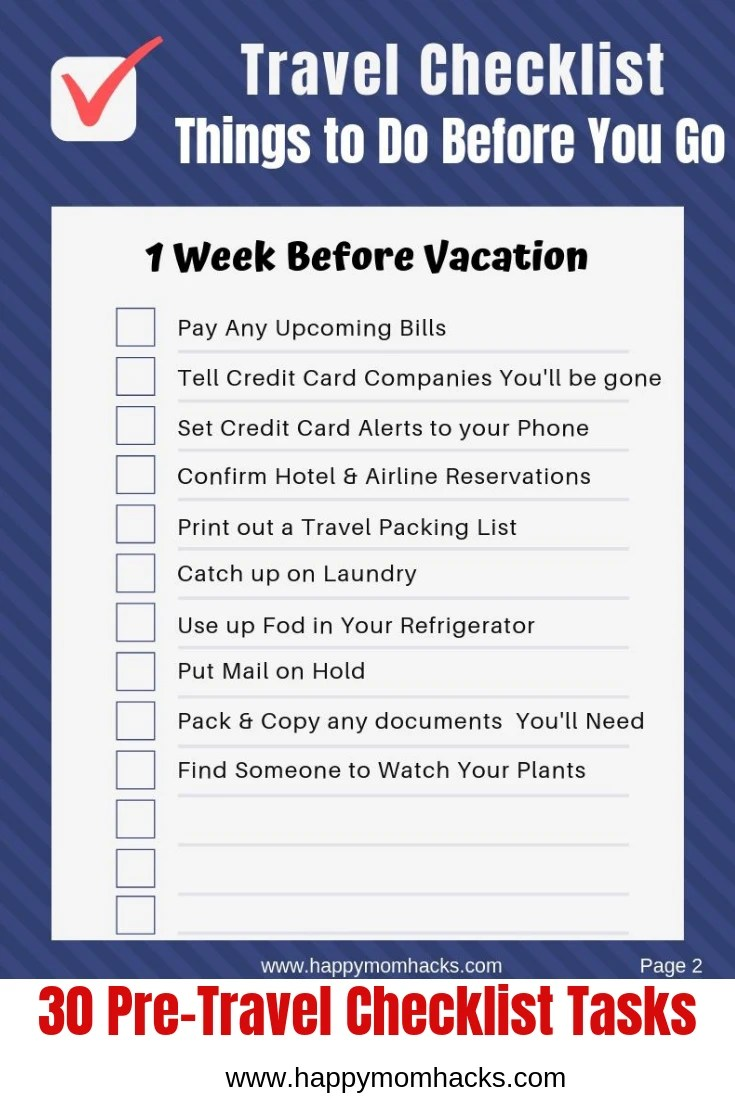 This is a picture of Printable Road Trip Checklist inside game