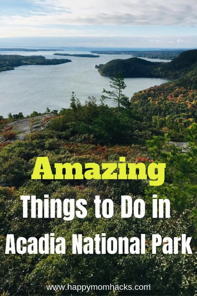 Amazing Things to Do in Acadia National Park. Find the best things to do with kids in this beautiful Maine National Park. Check out this compete family guide. #nationalpark #acadianp #familytravel #familyvacation #traveltips