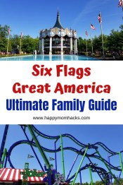 Six Flags Great America - Ultimate Family Guide | Happy Mom Hacks