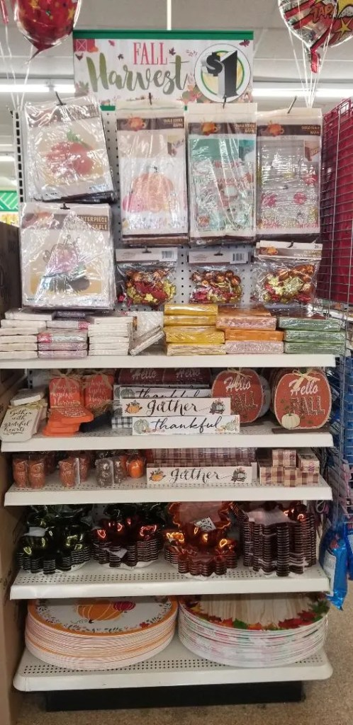 10 Cheap Fall Decorations ideas from Dollar Tree. You'll love these Easy DIY crafts for Thanksgiving and Halloween. Save money while making your house look cute for the Holidays.  #fall #decorations #thanksgiving #halloween #falldecor #dollartree