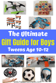 Unique Gift Ideas for boys age 10-12. Find Cool games for kids & electronics they'll love. Find out what tween boys really want for birthdays gifts.
