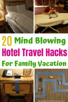 Hotel Hacks & Travel Tips for families