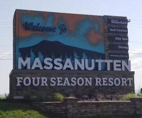 Massanutten Four Season Resort Sign