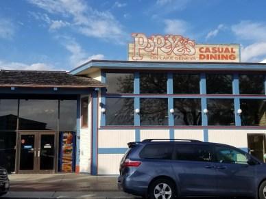 Popeye's Restaurant in Lake Geneva Wisconsin. Right cross the street from Lake Geneva with yummy food and good service. #lakegeneva #resturants #thingstodolakegeneva #wisconsin